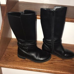 Like new Black high boots